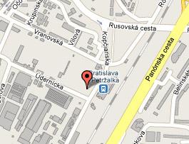 Mapa sidla Slovenske spolocnosti s.r.o.